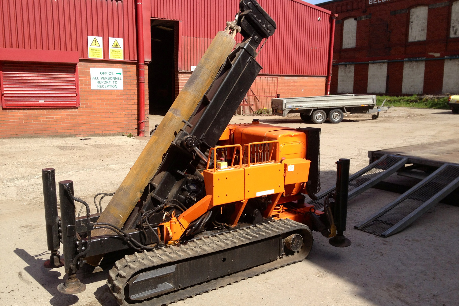 Piling Rig Hire Mini Piling Plant Hire