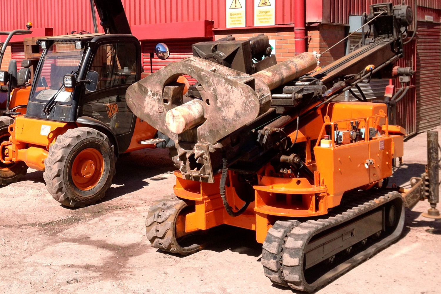 Drilling Rig Hire Mini Piling Plant Hire