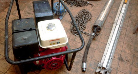Grundomat Piling Hammer Hire