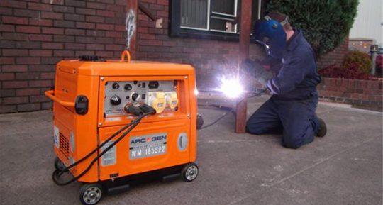 Welder Generator Hire
